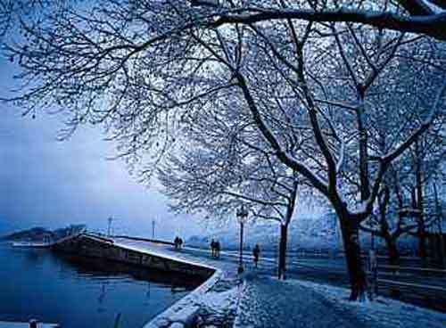 西湖美景:断桥残雪