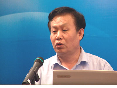图:建设部政策研究中心主任 陈淮