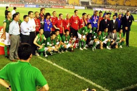 图文:曼联工体3-0完胜北京现代