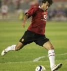 图文:曼联工体3-0完胜北京现代 范尼在比赛中