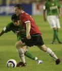 图文:曼联工体3-0完胜北京现代 鲁尼拼抢