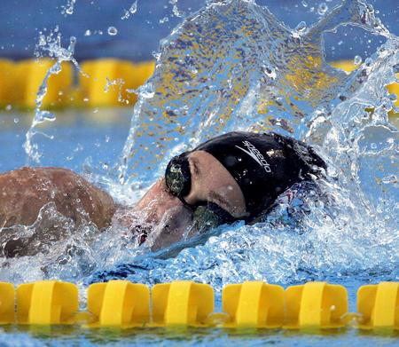图文:世锦赛游泳比赛第五日