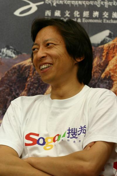 张朝阳:攀登启孜峰的难度比想象中要大得多