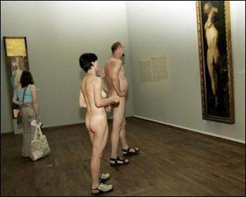 维也纳举办艺术展 参观者裸体可免门票入内(图)