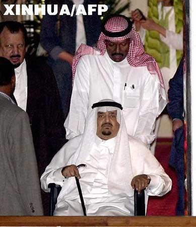 外电称有消息表明沙特国王法赫德已经病逝(图)
