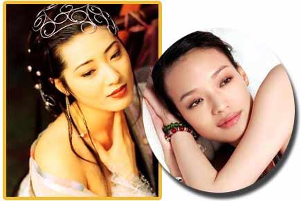 """养眼:中国的十大经典""""女脱星"""""""