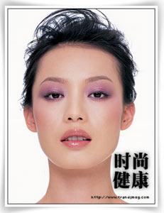 彩妆:璀璨明星风范 三点式打造