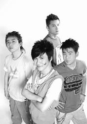 四个男孩一台戏 花儿乐队上海谈《花季王朝》