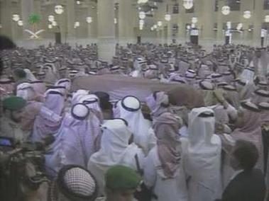 沙特已故国王法赫德葬礼举行