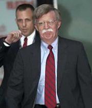 Bush installs Bolton as U.N. ambassador