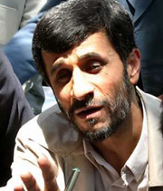 Conservative Ahmadinejad becomes Iran's president