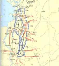 第三次长沙会战地图