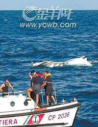 突尼斯客机西西里海上坠落