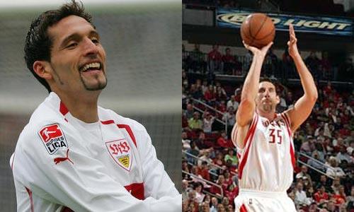 十大长得最像NBA球星和足球明星 亨利酷似马丁图片