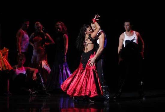 图:舞蹈经典《燃烧的地板》精彩剧照―23