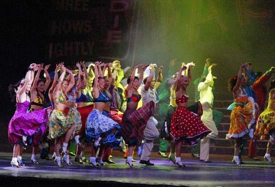 图:舞蹈经典《燃烧的地板》精彩剧照―26