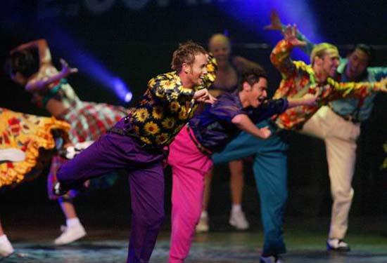 图:舞蹈经典《燃烧的地板》精彩剧照―29