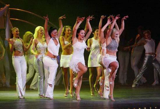 图:舞蹈经典《燃烧的地板》精彩剧照―31