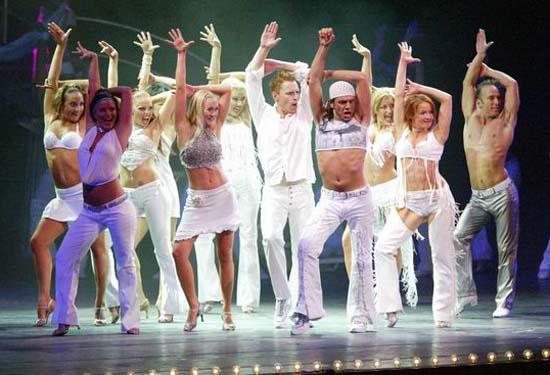 图:舞蹈经典《燃烧的地板》精彩剧照―33