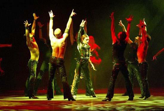 图:舞蹈经典《燃烧的地板》精彩剧照―35