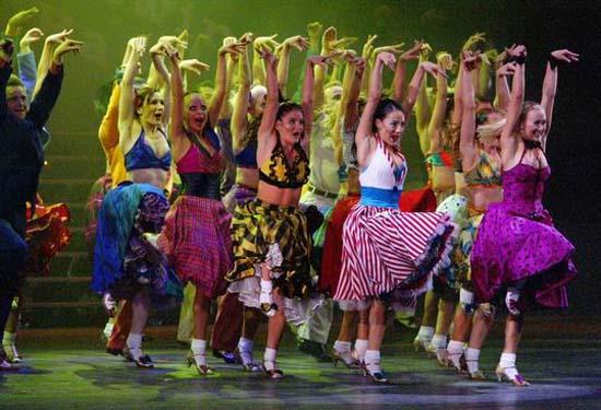 图:舞蹈经典《燃烧的地板》精彩剧照―38