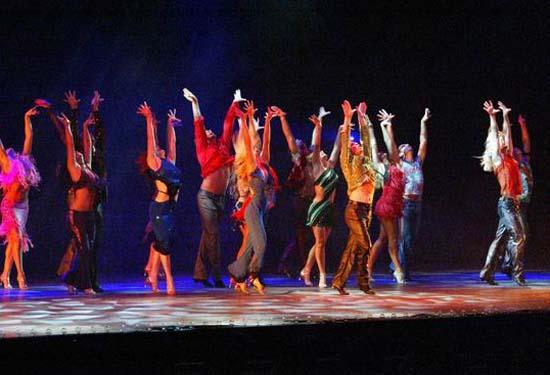 图:舞蹈经典《燃烧的地板》精彩剧照―41