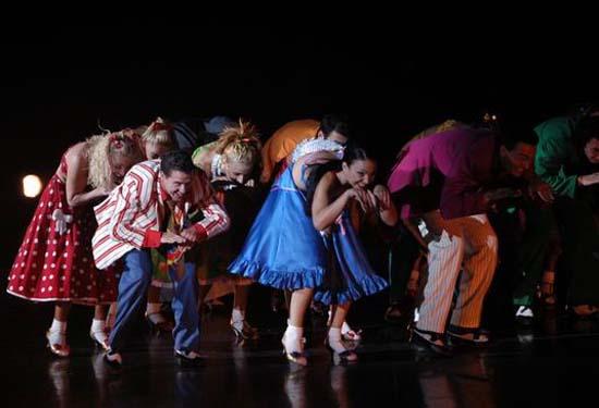 图:舞蹈经典《燃烧的地板》精彩剧照―46