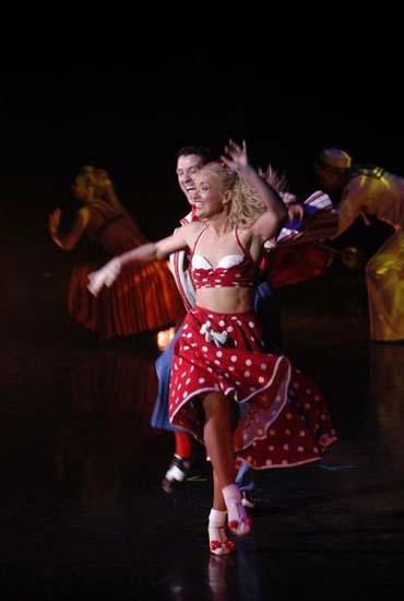 图:舞蹈经典《燃烧的地板》精彩剧照―51