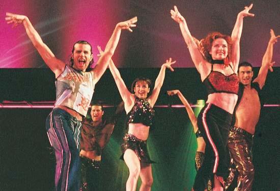 图:舞蹈经典《燃烧的地板》精彩剧照―59