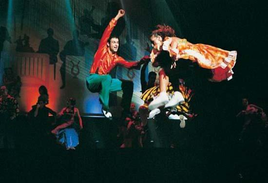 图:舞蹈经典《燃烧的地板》精彩剧照―62