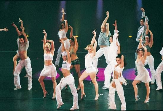 图:舞蹈经典《燃烧的地板》精彩剧照―66