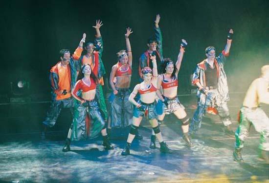 图:舞蹈经典《燃烧的地板》精彩剧照―67
