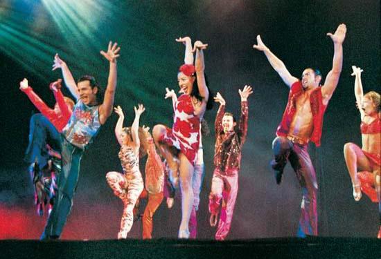 图:舞蹈经典《燃烧的地板》精彩剧照―70