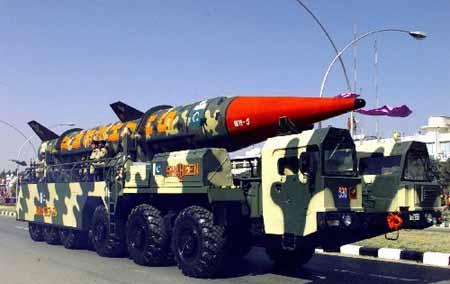 巴基斯坦成功试射可携带核弹头的巡航导弹