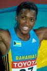 图文:世锦赛第五日 巴哈马选手托尼克