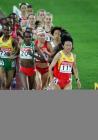 图文:田径世锦赛第五日 孙英杰领跑