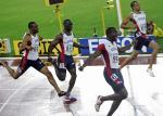 图文:男子200米加特林加冕 美国选手优势明显