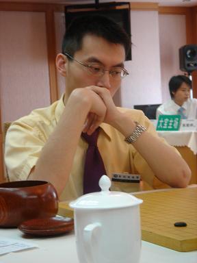 图文:北京大宝VS贵州咳速停 王磊在对局中