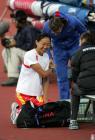 图文:高淑英获世锦赛第五 与其他选手交谈