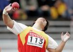 图文:田径世锦赛 中国选手李梅菊