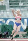 图文:田径世锦赛 俄罗斯选手奥莉加・库津科娃