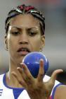 图文:田径世锦赛第八日 古巴选手米斯雷迪斯
