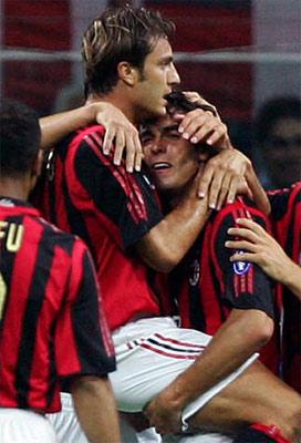 贝鲁斯科尼杯-尤文两大将受伤 米兰逆转2-1获胜