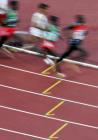 图文:男子5000米 选手们身影如梭