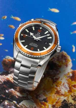 海洋宇宙 色彩魅力锐不可挡--欧米茄发布新手表