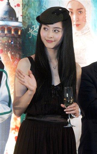 范冰冰加盟孙楠新歌MV 两人演绎苦情恋(组图)