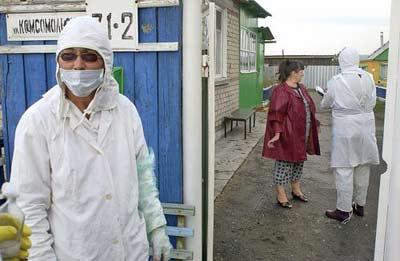 组图:俄罗斯禽流感疫情扩散 紧急救援工作开始