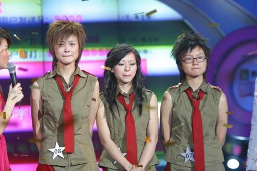 超女三强:李宇春.张靓颖.周笔畅(组图)