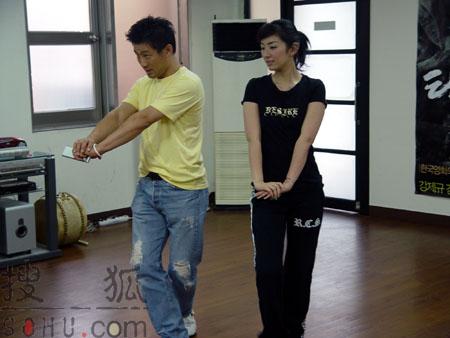黄奕韩国学跳舞体验韩国文化