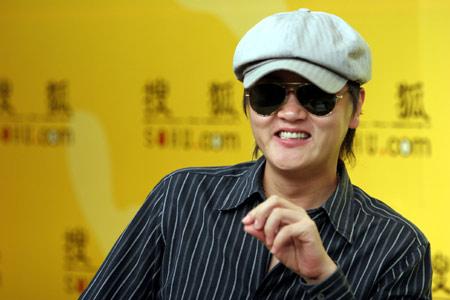 孙楠搜狐启动个人官方网站 遭遇歌迷现场PK